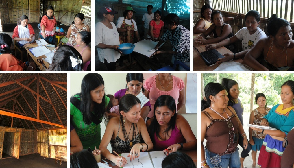 ORG by vio Projects in the Amazon Rainforest. Empowering Women and Promoting their Culture and Arts.