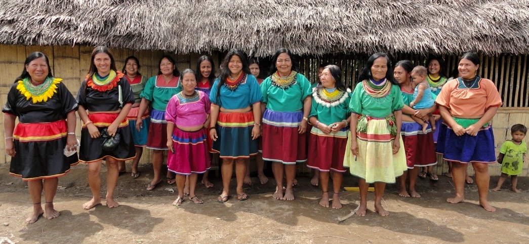 Cofn Artisans of Asociacin Suk in the Ecuadorian Rainforest.
