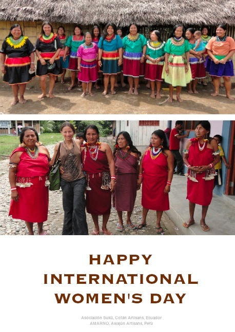 Happy International Women's Day Artisans