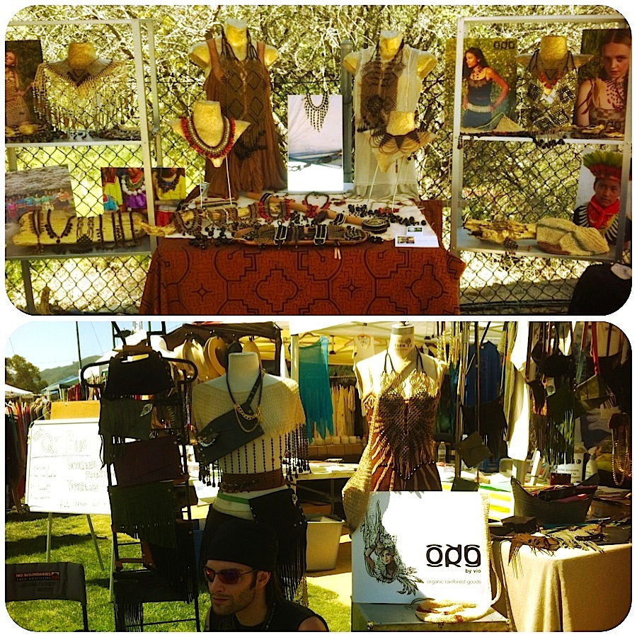 ORG by vio at Topanga Earth Day